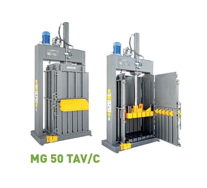 Compactor machine for soft polyurethane foam scraps | Ausonia Srl